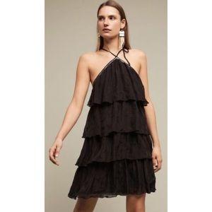 Anthropologie St. Roche Vasta Tiered Halter Dress
